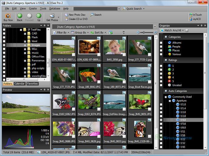 Скриншот ACDSee Pro