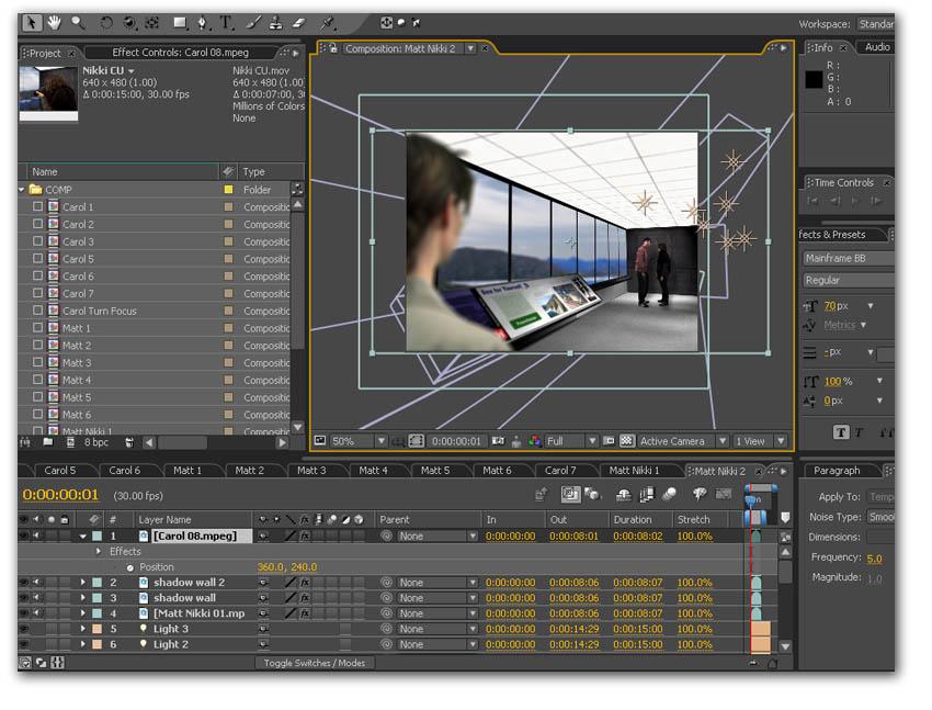 Скриншот Adobe After Effects