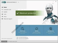 Скриншот ESET NOD32 Antivirus
