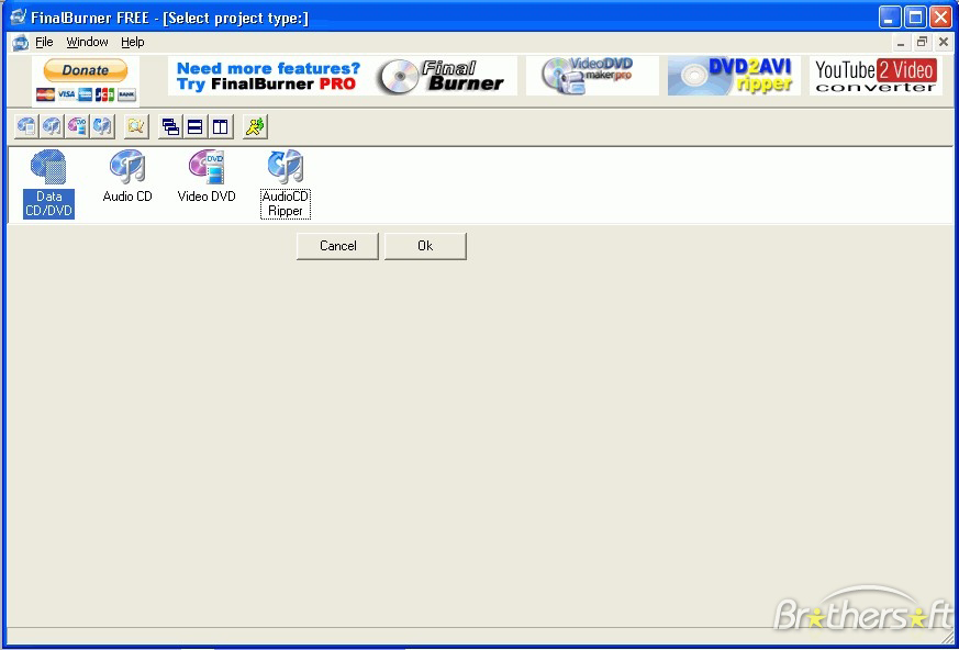 Скриншот FinalBurner FREE