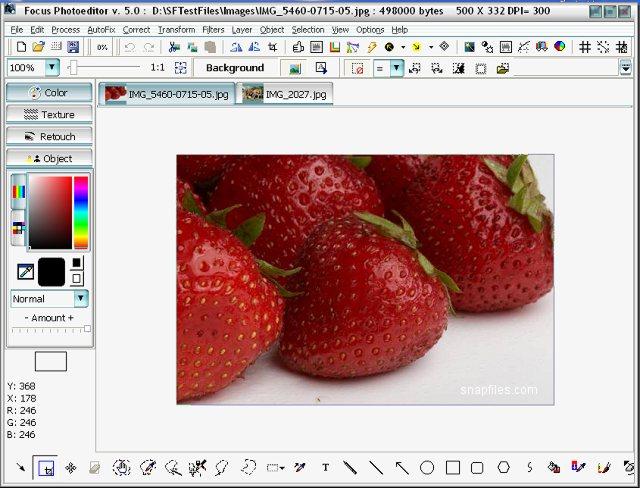 Скриншот Focus Photoeditor