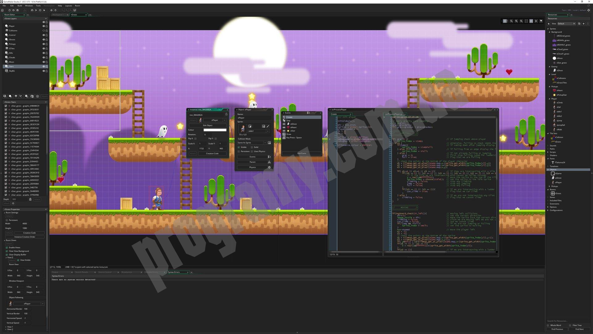 Скриншот GameMaker: Studio