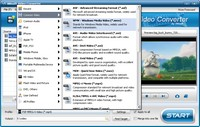 Скриншот iWisoft Free Video Converter