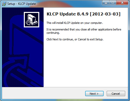 Скриншот K-Lite Codec Pack Update