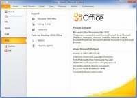 Скриншот Microsoft Office 2010 SP 2
