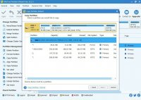 Скриншот MiniTool Partition Wizard Free