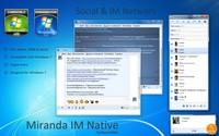 Скриншот Miranda IM