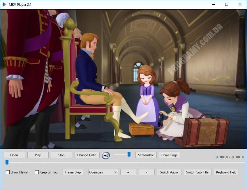 Скриншот MKV Player