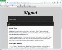 Скриншот Mypal