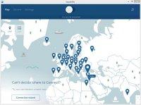 Скриншот NordVPN