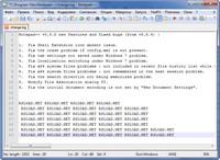 Скриншот Notepad++
