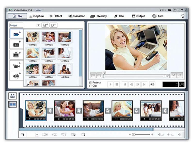 Скриншот Oposoft Video Editor