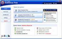 Скриншот PC Tools AntiVirus Free