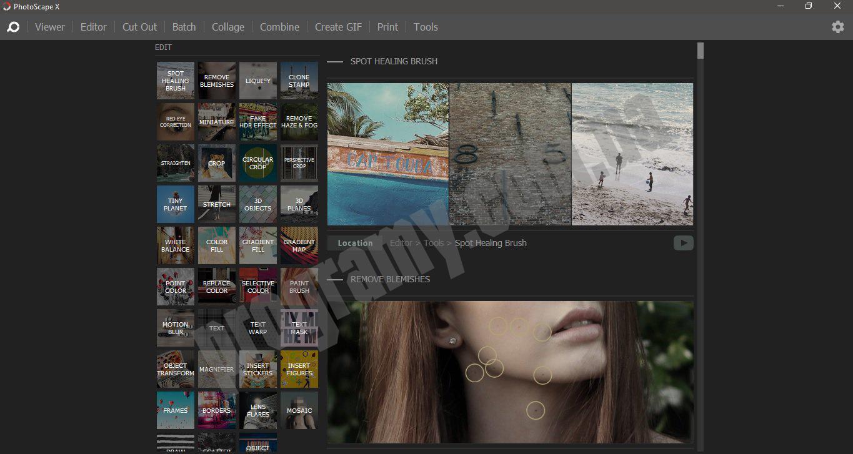 Скриншот Photoscape X Pro