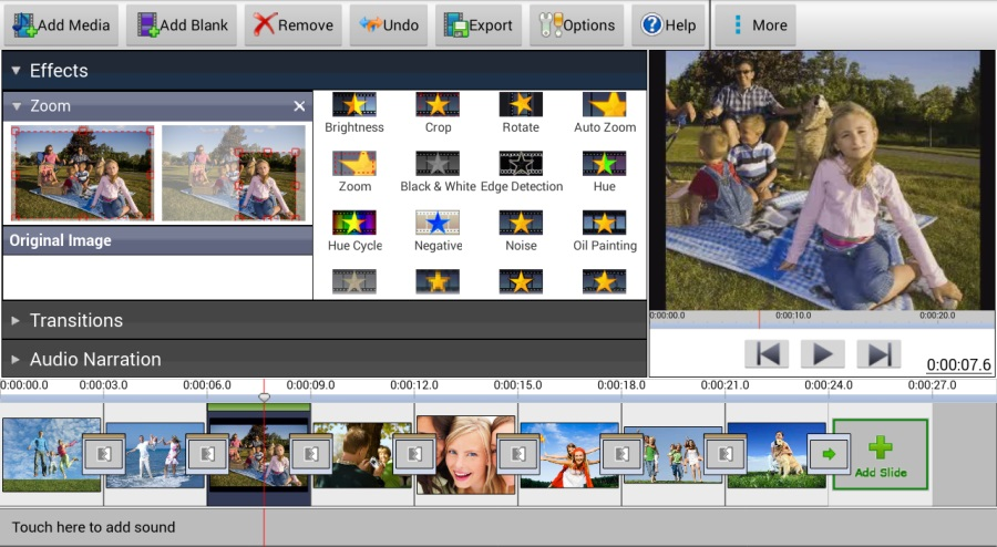 Скриншот PhotoStage Slideshow