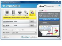 Скриншот PrimoPDF