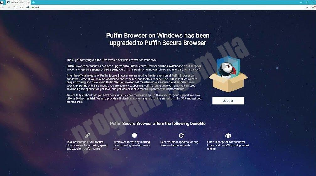 Скриншот Puffin Browser