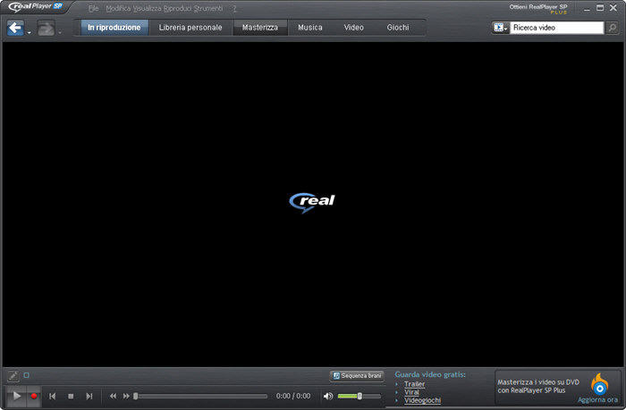 Скриншот RealPlayer