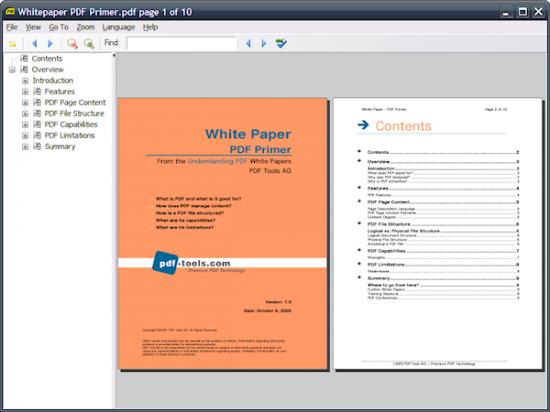 Скриншот Sumatra PDF