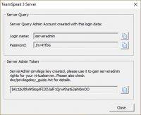 Скриншот TeamSpeak Server