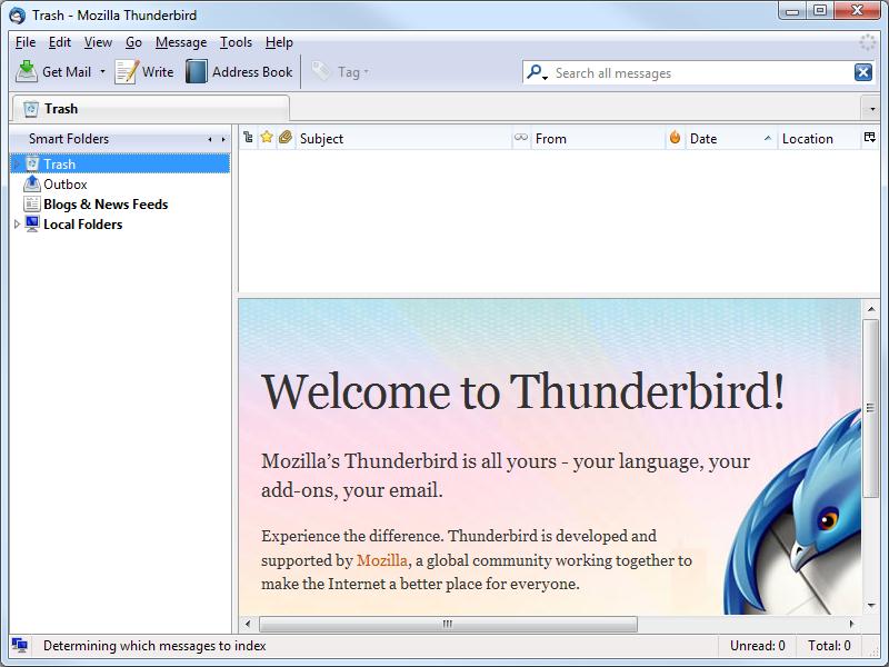 Скриншот Mozilla Thunderbird