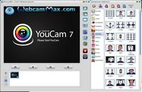 Скриншот WebcamMax