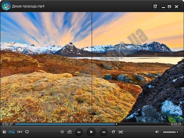 Скриншот WindowsPlayer