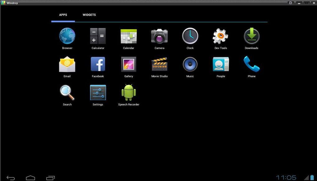 Скриншот Windroy